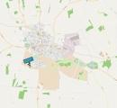 Lage Jugendgästehaus (Bildquelle: http://www.openstreetmaps.org)