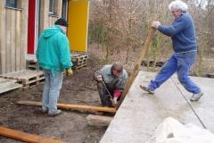2010-03-13 - Verschalung Schlafhaus