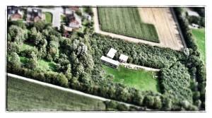 Luftaufnahme des Jugendgästehaus Himmelreich