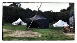 Der Zeltplatz des Jugendgästehaus Himmelreich